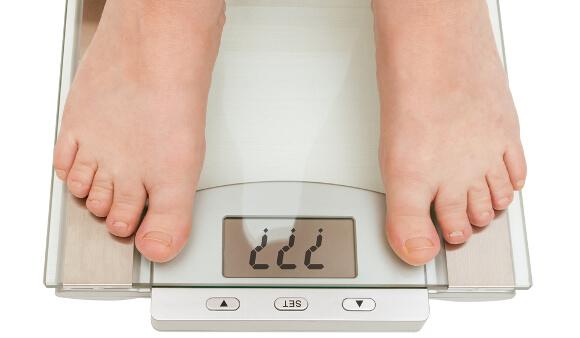 体重が落ちやすい