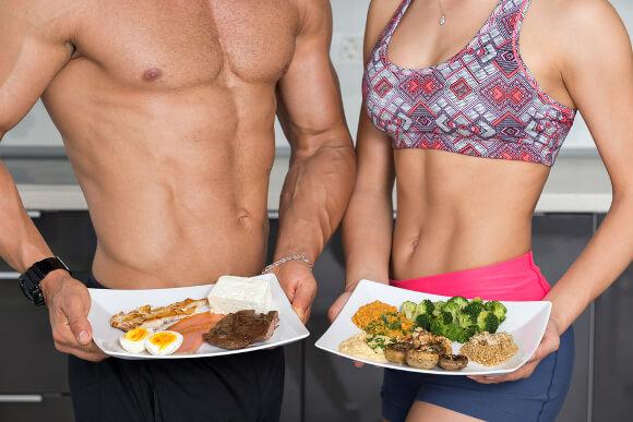 筋肉をつける食事