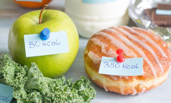 摂取カロリーを抑える