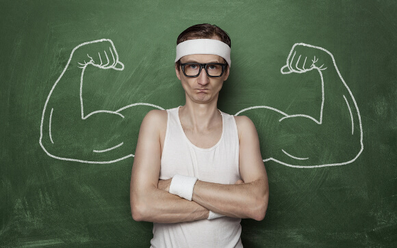 筋肉は損傷しなくても大きくなる