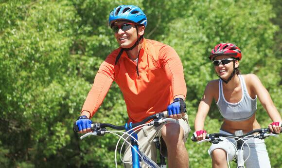 自転車とジョギングの比較