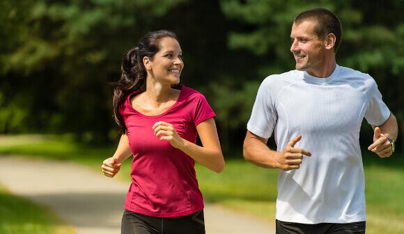 ウォーキングとジョギングの比較
