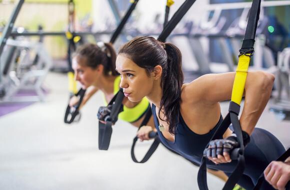 筋肉が伸ばされる運動