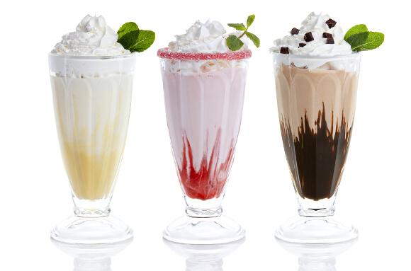 高カロリーの飲み物