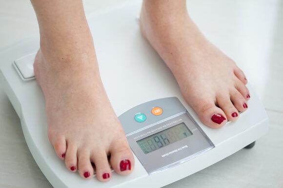 体脂肪計の動き