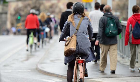 日常で自転車を使う