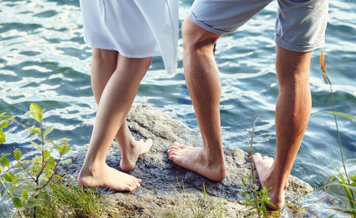 太い足を解消する
