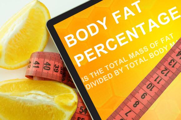 体重と体脂肪計の体脂肪率