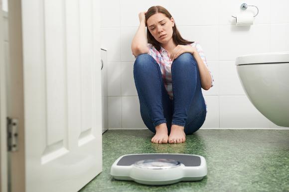 ダイエットをしても体重が落ちない悩み