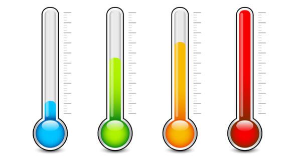 気温による基礎代謝量の違い