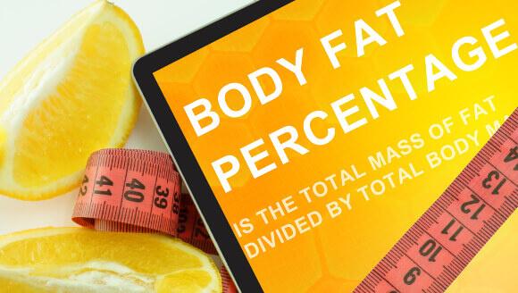 体脂肪計の体脂肪率