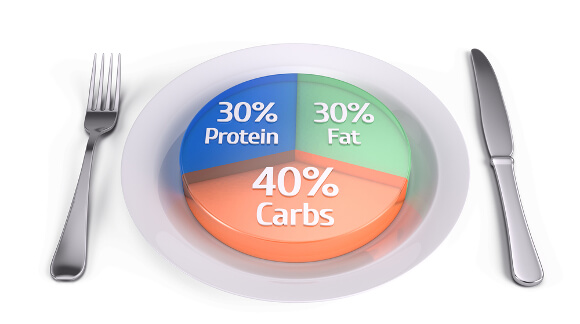 摂取カロリーと栄養素