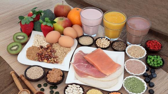 摂取カロリーとタンパク質