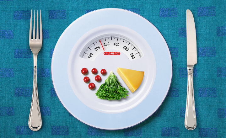 ダイエットでの1日の摂取カロリー
