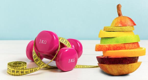 運動と食事のダイエット効果