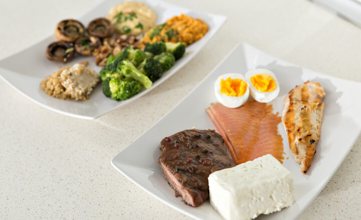 高タンパク質の食品