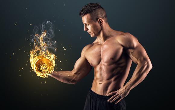 男性が体脂肪率10%以下・一桁に落とす