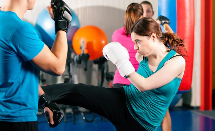 キックボクシングで効果的にダイエットに成功する方法!
