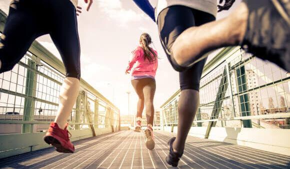 運動で足を細くする