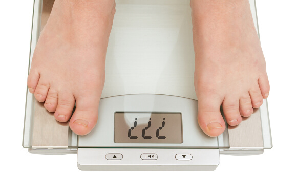 男性女性の適正体重一覧