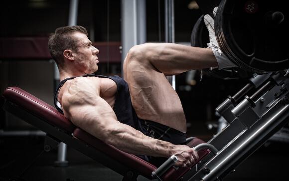 筋肉で下半身太り