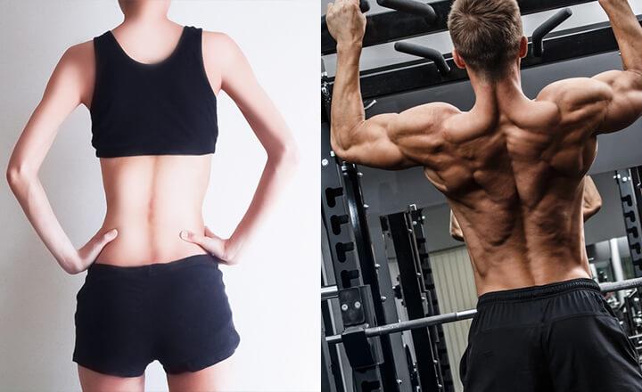背中痩せに1番効果的な本物のダイエット&筋トレ方法!