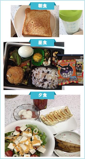 ダイエット成功者の食事3-2