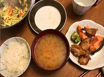 ダイエット成功者の食事6-8