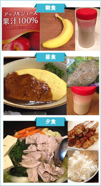 ダイエット成功者の食事4-1
