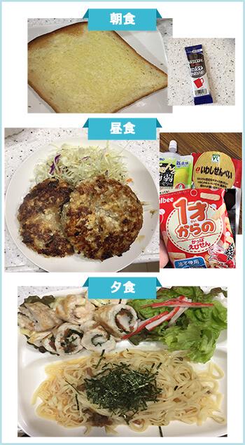 ダイエット成功者の食事3-1
