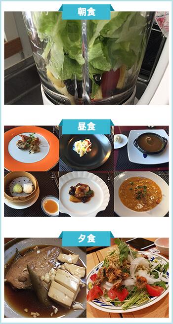 ダイエット成功者の食事2-1